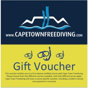 Freediving Course Gift Voucher